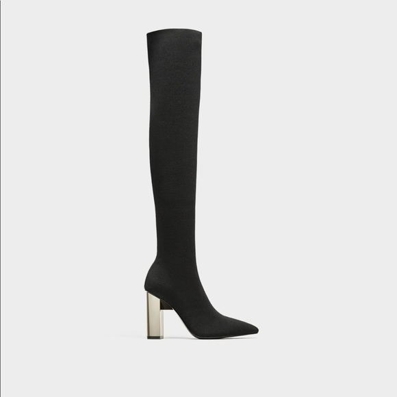 c5104e16c589b Tall elastic high heel boots. M 5b71efe3153795f914a066a0